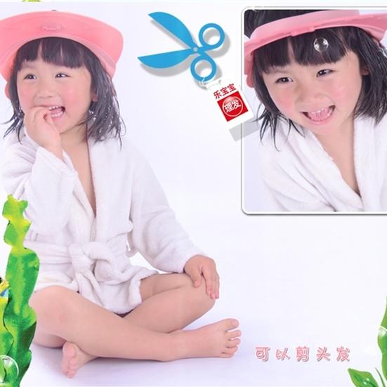 全国特价包邮 宝宝可调节洗发帽 儿童洗头浴帽 婴幼儿防水护耳帽