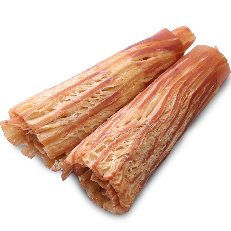 老鲜生 手撕风琴鱿鱼片海鲜即食零食小吃大连特产鱿鱼丝500g包邮