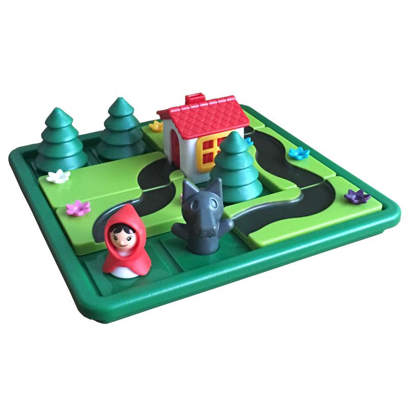 小红帽与大灰狼桌游益智类逻辑思维训练儿童桌面游戏小乖蛋玩具