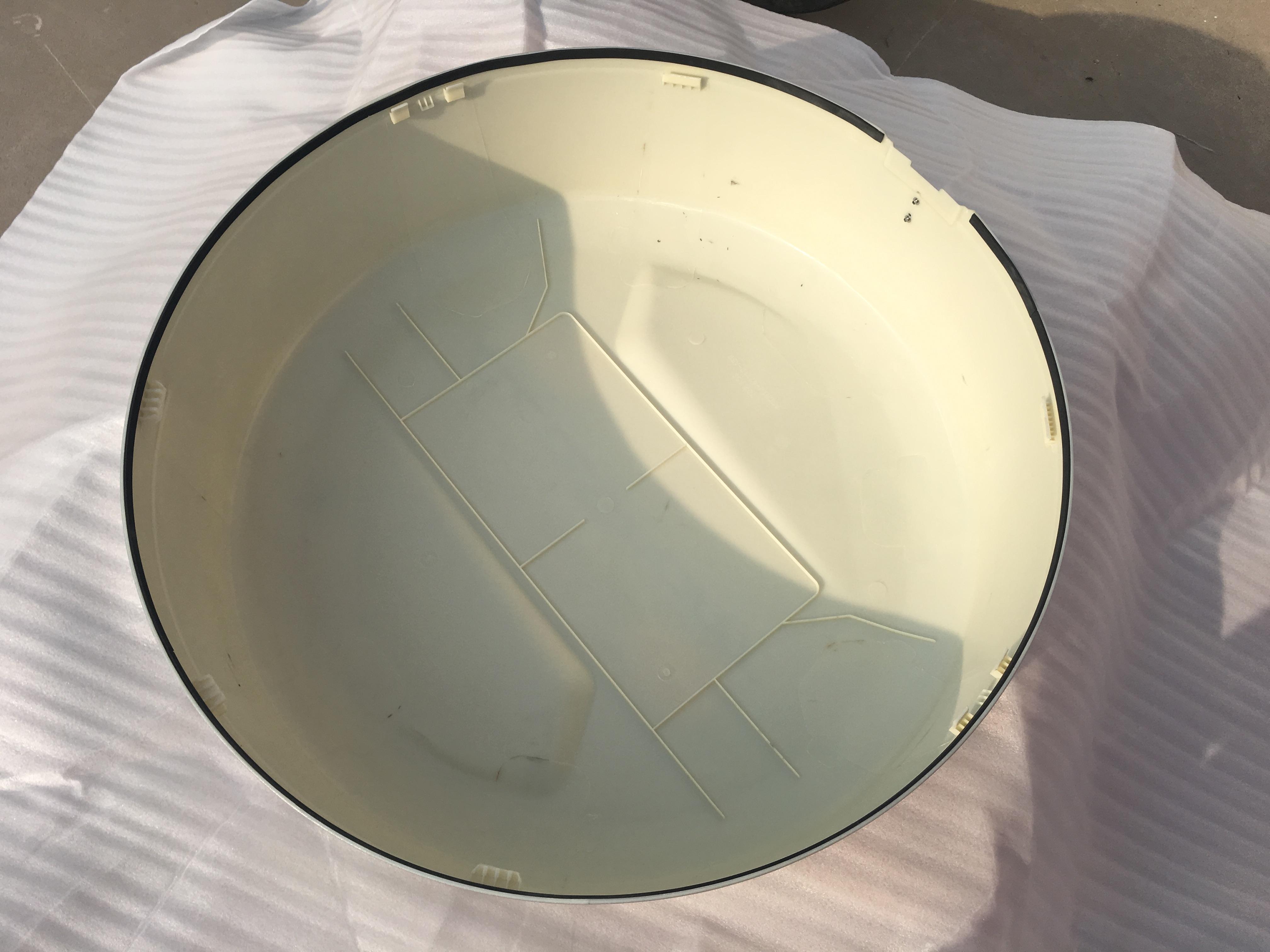福特翼博后备胎罩 13-17款 后备胎壳 后门 后挂备胎盖防尘轮胎罩