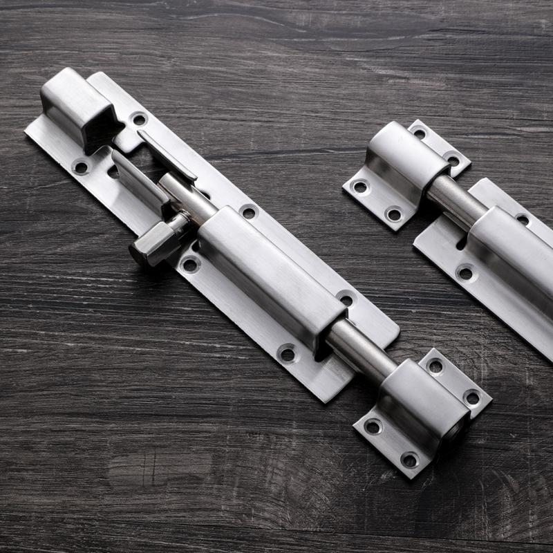 不锈钢插销门扣加厚加长门插销门拴门扣加宽耐用门闩牛门栓包邮