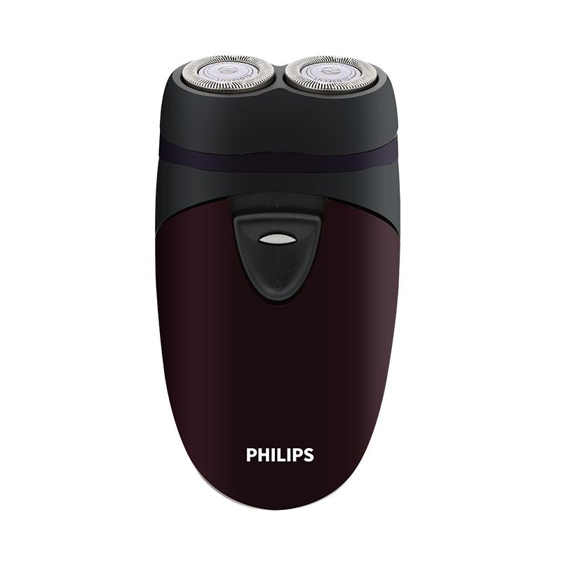 飞利浦电动剃须刃 家用刃头干电池式刮胡刃便携荷兰原装正品  PQ206