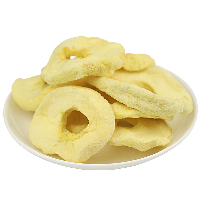 苹果干500g包邮软口感不脆苹果片不加糖无添加烟台苹果圈水果零食