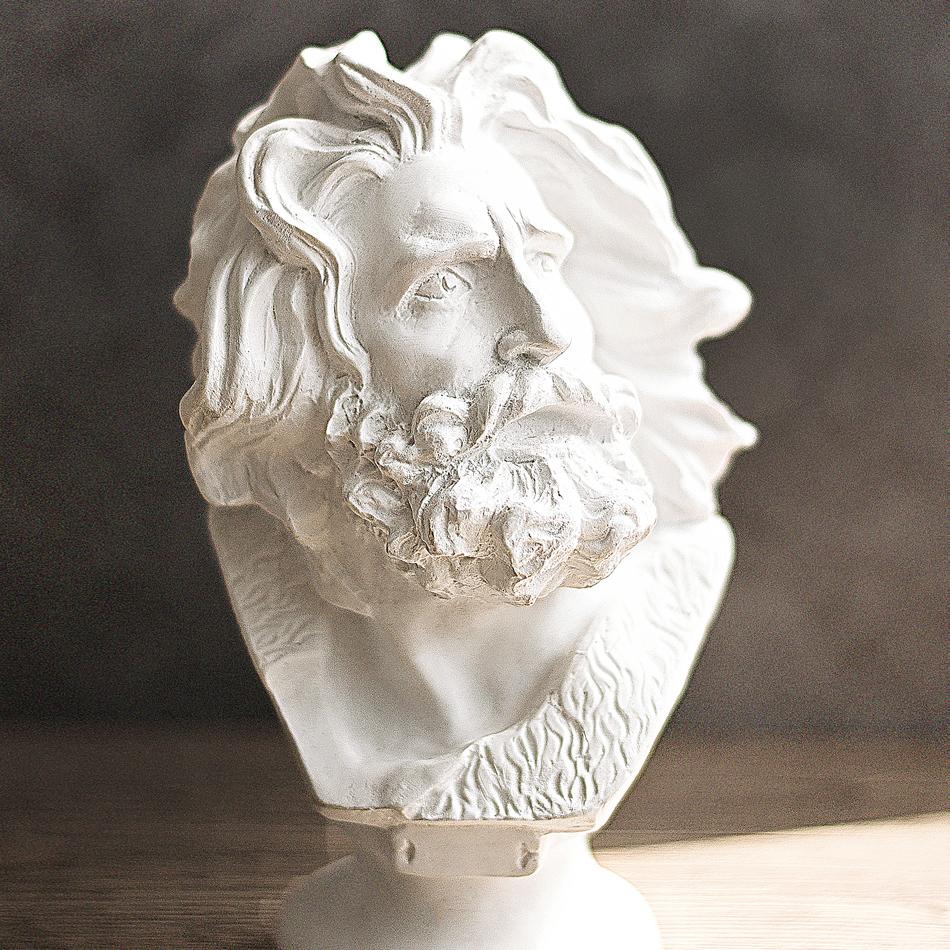 人氣包郵馬賽海盜法國凱旋門樹脂石膏雕塑人物擺件家飾素描畫畫
