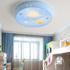 儿童房灯卧室灯男孩女孩卡通汽车灯饰创意个性led现代简约吸顶灯