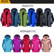 Outdoor Jackets for men and women three-in-one detachable two-piece windproof and waterproof mountaineering jacket plus velvet thick suit