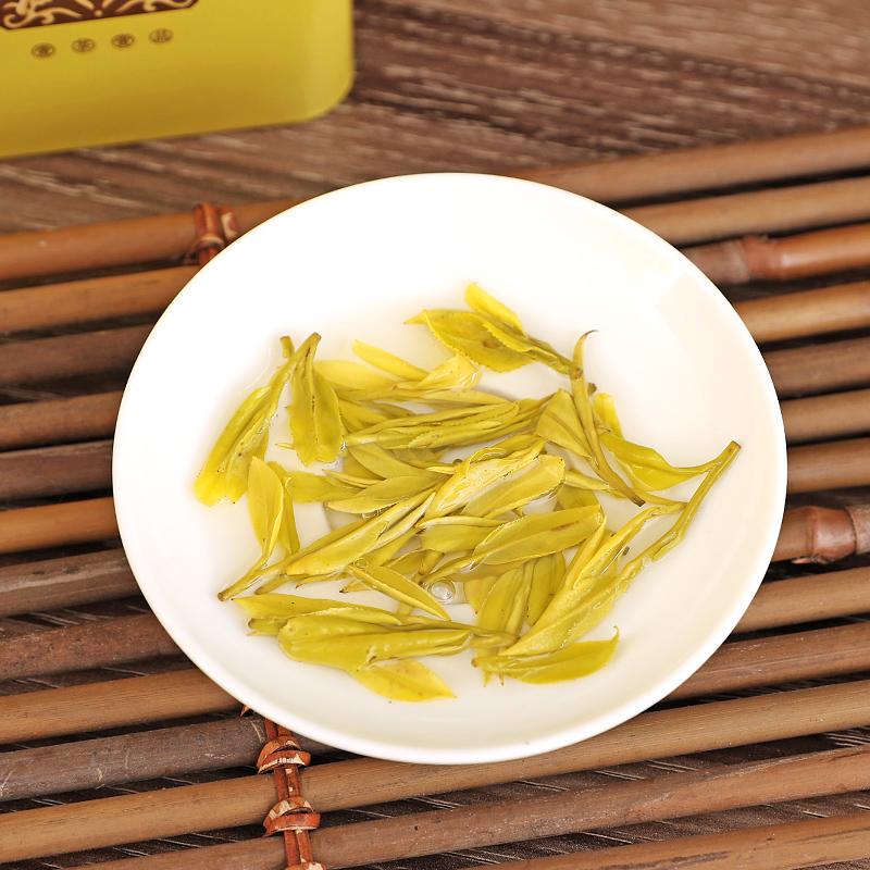 刘禹昊 50g 新茶正宗雨前一级安吉白茶茶叶绿茶黄金叶 2019 黄金芽