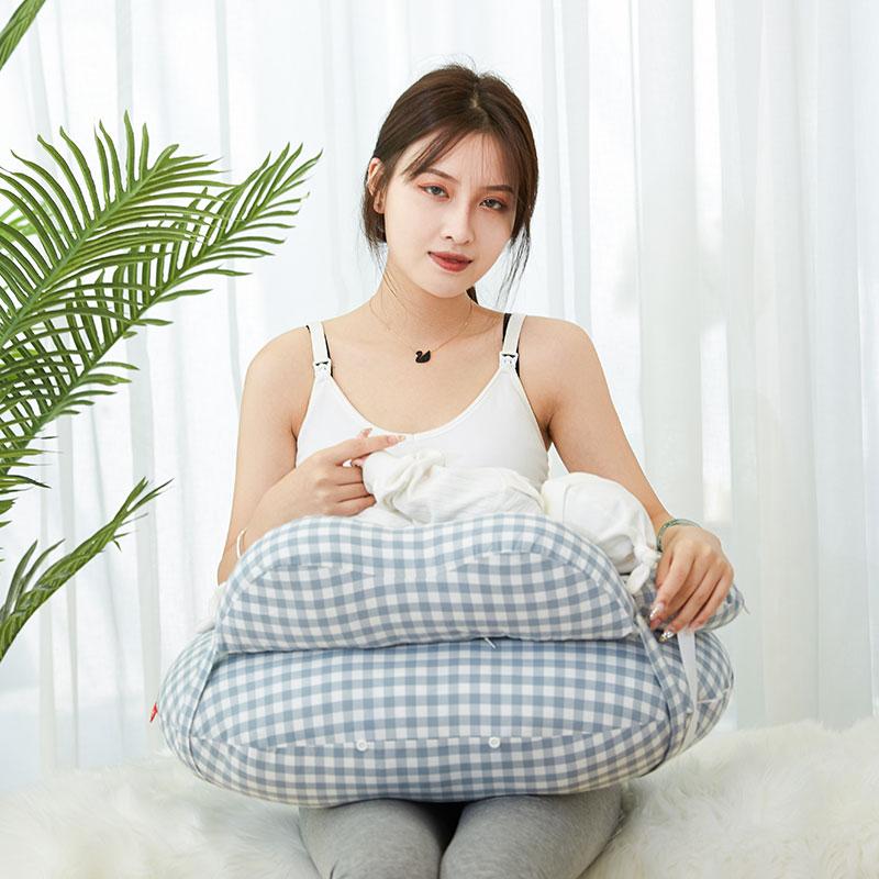 喂奶神器哺乳枕头护腰椅子抱娃横抱婴儿抱抱喂奶枕坐月子懒人垫托