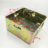 KBG cartridge welding wire tube 86 bit cassette cartridge box octagonal box lamp switch box metal junction box H40