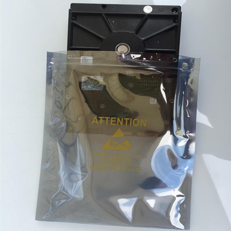 龙燕佳 自封口袋印刷防静80*120mm骨袋防静电袋拉链100个9.9元