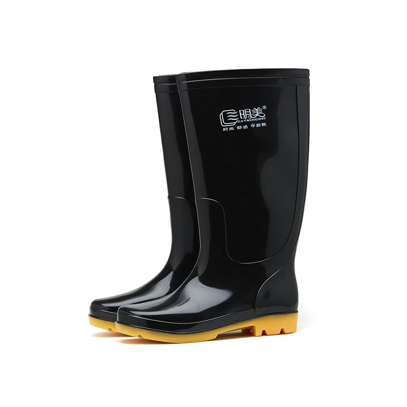 三明美雨鞋男士雨靴水鞋男款防滑高筒中筒低帮短筒加绒可拆雨鞋