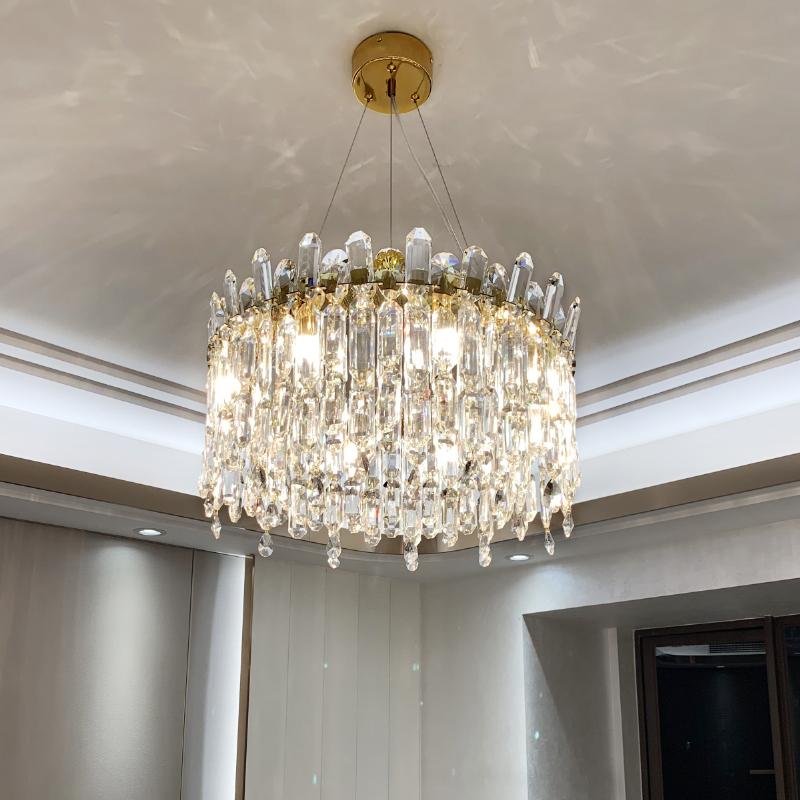 港式轻奢吊灯后现代客厅吊灯简约卧室灯水晶灯房间灯大气餐厅灯具