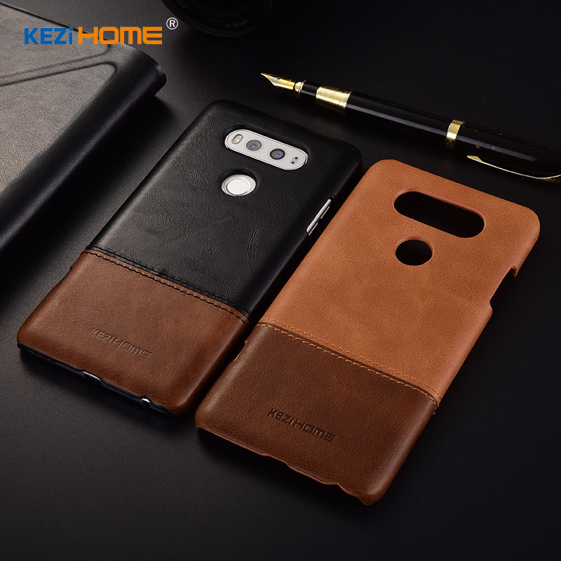 [淘寶網] KEZIHOME LG V20手機殼真皮LG V20超薄真皮撞色皮殼保護套商務潮