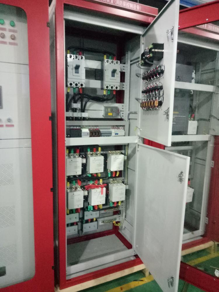 消防巡检柜智能消防自动巡检控制柜消防泵巡检柜控制器90kw