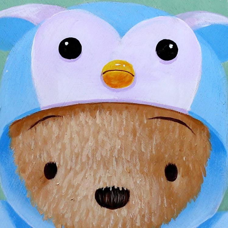 M.W【企鹅睡衣】ins原创潮流小众北欧卡通艺术可爱儿童房装饰版画