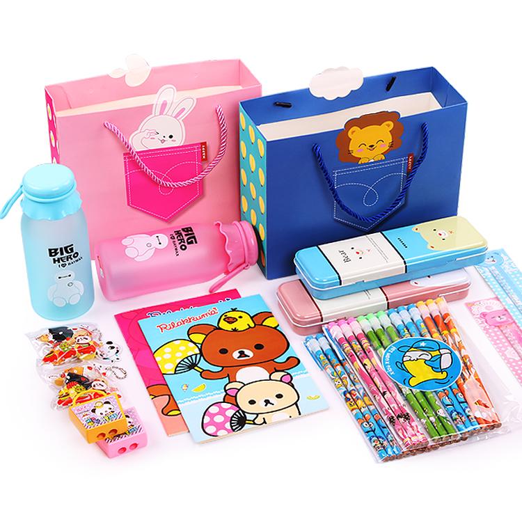 开学季儿童学习用品大礼包小学生文具套装幼儿园奖品生日礼物批发