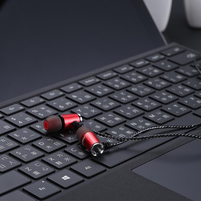 德国CANYON耳机重低音入耳式HIFI发烧高音质线控带麦手机通用德行