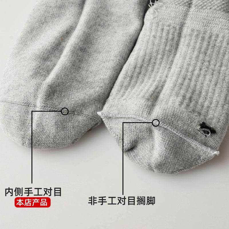 袜子儿童纯棉男童船袜男短袜薄款夏季白色女童女3-12岁宝宝网眼袜主图
