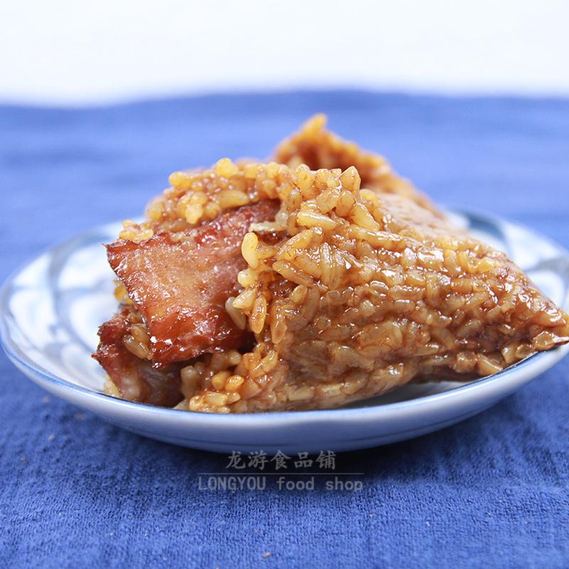 嘉兴粽子农家纯手工新鲜肉粽子散装速食咸味早餐真空包装枫泾粽子