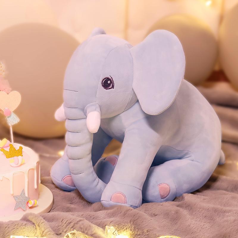 大象毛绒玩具仿真可爱动物抱枕大号公仔娃娃儿童玩偶男孩女孩礼物