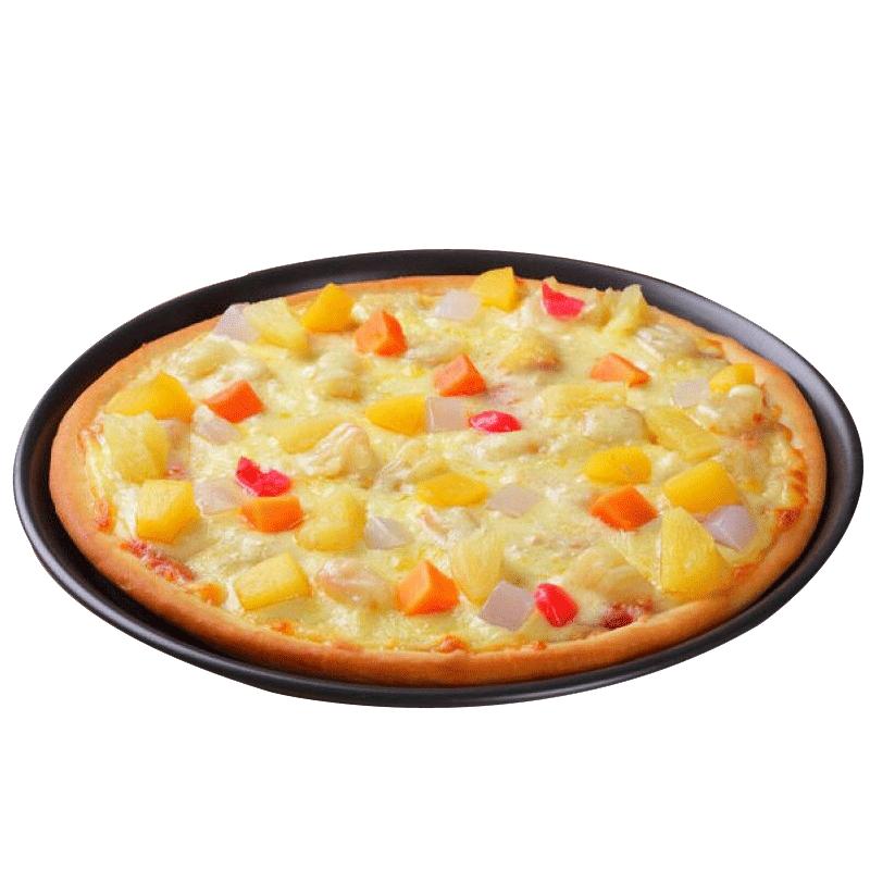 潮香村热带风暴水果匹萨100g冷速冻披萨半成品微波家庭西餐食品