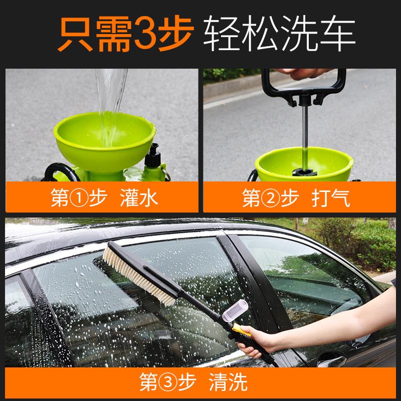手动洗车机洗车神器高压家用洗车器车载小型刷车水泵便携式清洗机