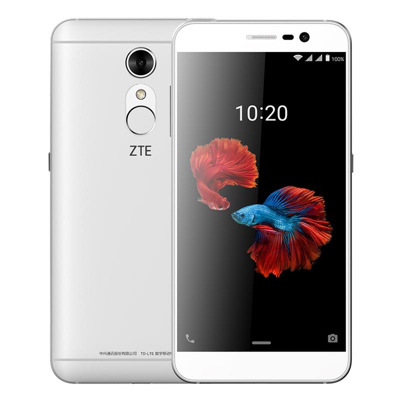 手机 NFC 指纹金属大屏智能 4G 移动联通电信 4G 电信版全网通 BA910 中兴 ZTE 送软壳指环扣 发顺丰