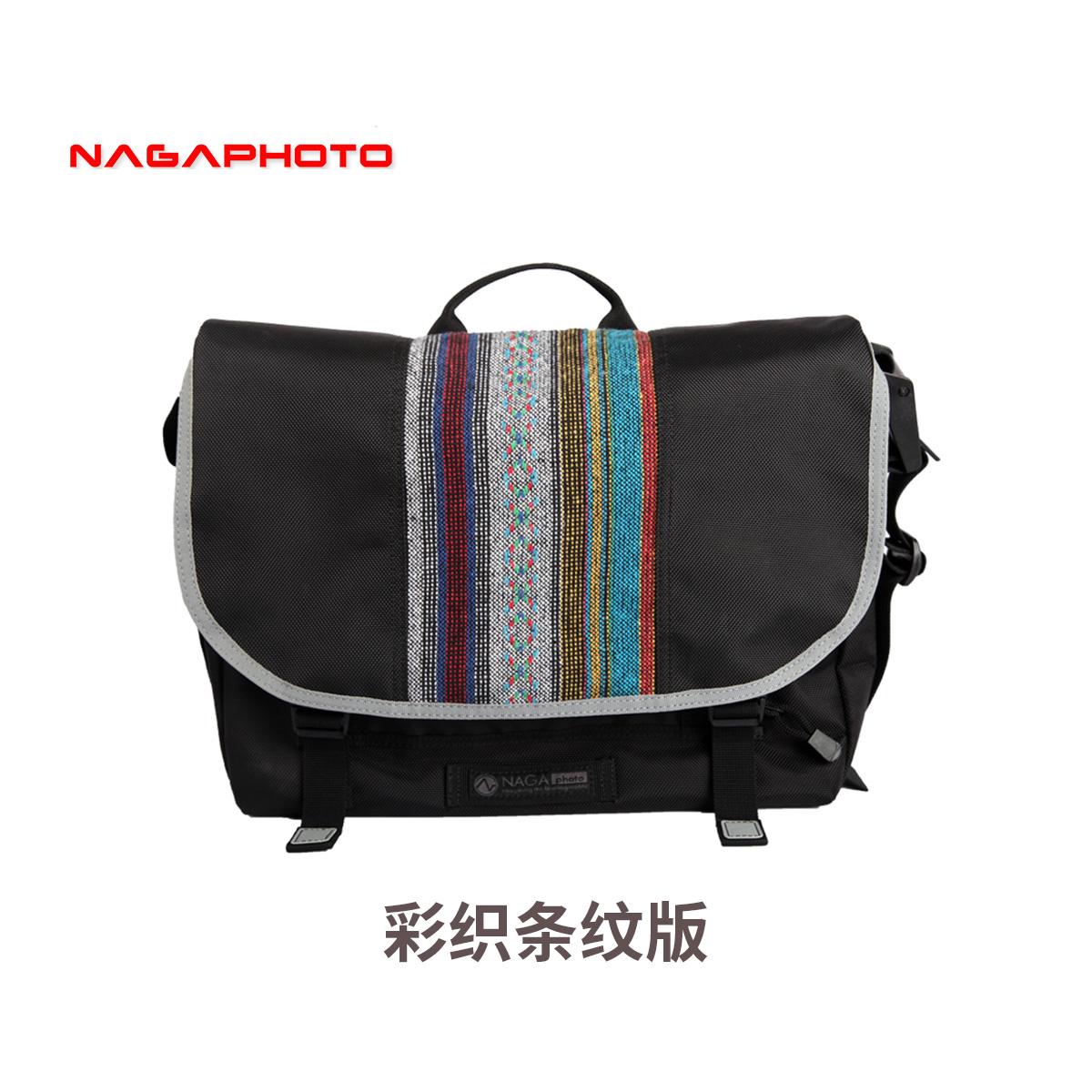 纳伽邮差摄影包佳能单反相机包民族风骑行包微单包尼康休闲摄影包