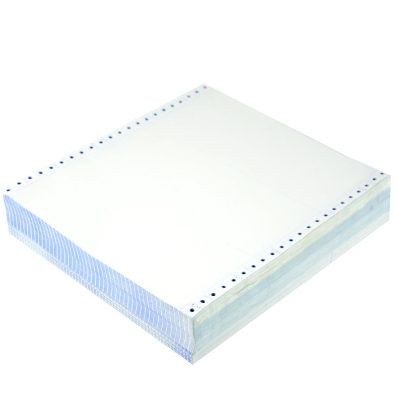 电脑打印纸三联二等分 二联四联五联三等分 两联发货单发票清单凭证票据针式打印纸白色