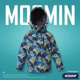 Moomin Moomin children's clothing children's winter thick waterproof ski suits big virgin outdoor windproof cotton 100-170
