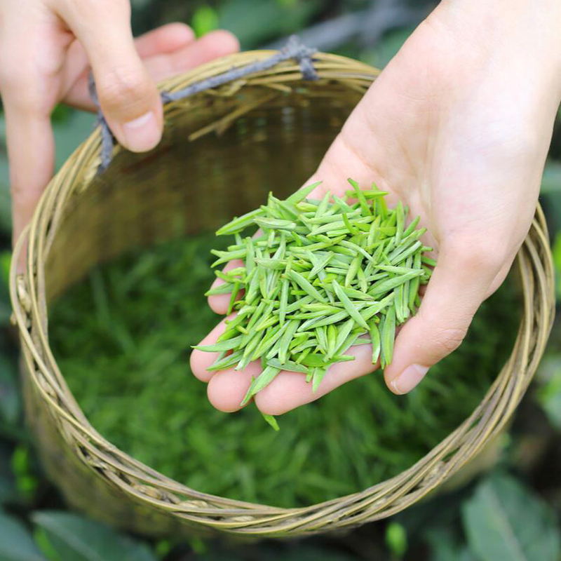 5万芽头出1斤,非遗:100gx2盒 林湖茶叶 明前特级高山雀舌