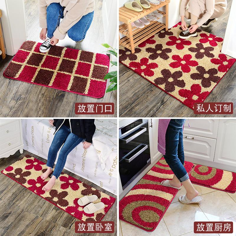 进门地垫家用入户门口地毯门垫卧室厨房卫生间吸水脚垫浴室防滑垫