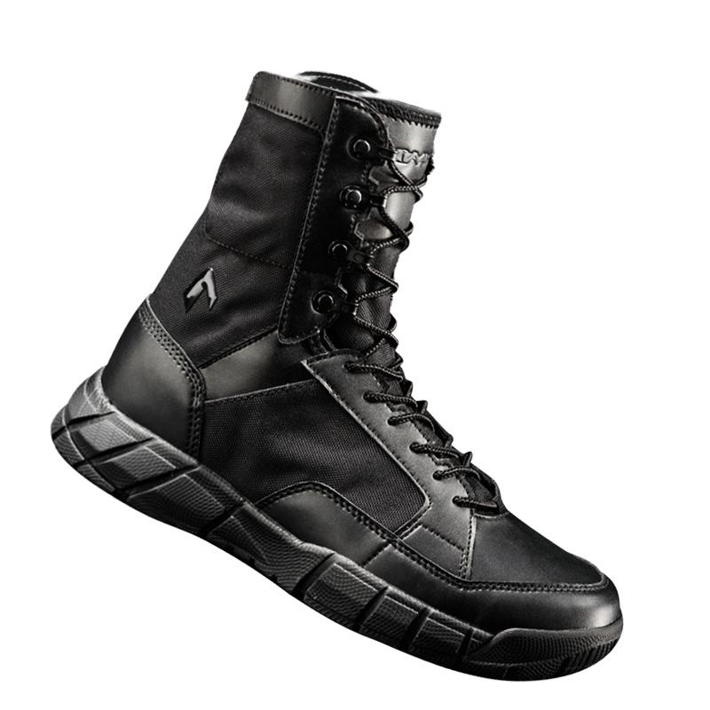 逸鹤军靴男女夏季特种兵超轻透气07作战靴沙漠战术靴作训登山鞋