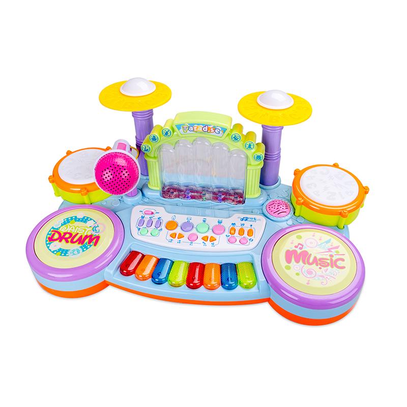 婴儿钢琴玩具琴宝宝儿童电子琴鼓01-3岁可充电多功能益智演奏组合