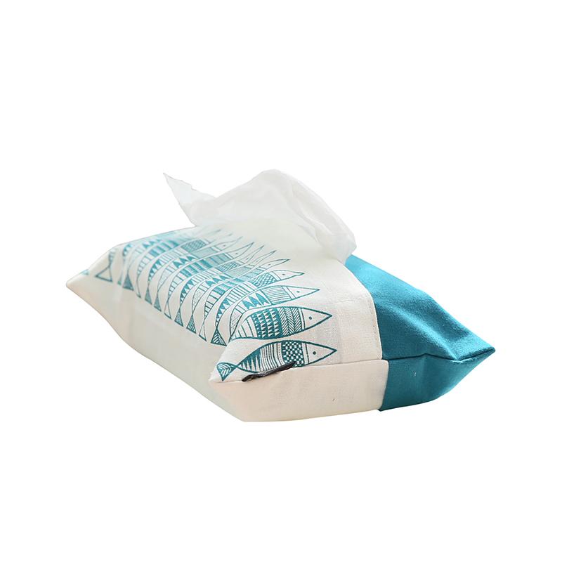 馨生活鲤鱼福纸巾袋餐桌茶几纸巾盒抽纸盒卫生间厕所纸巾盒车用