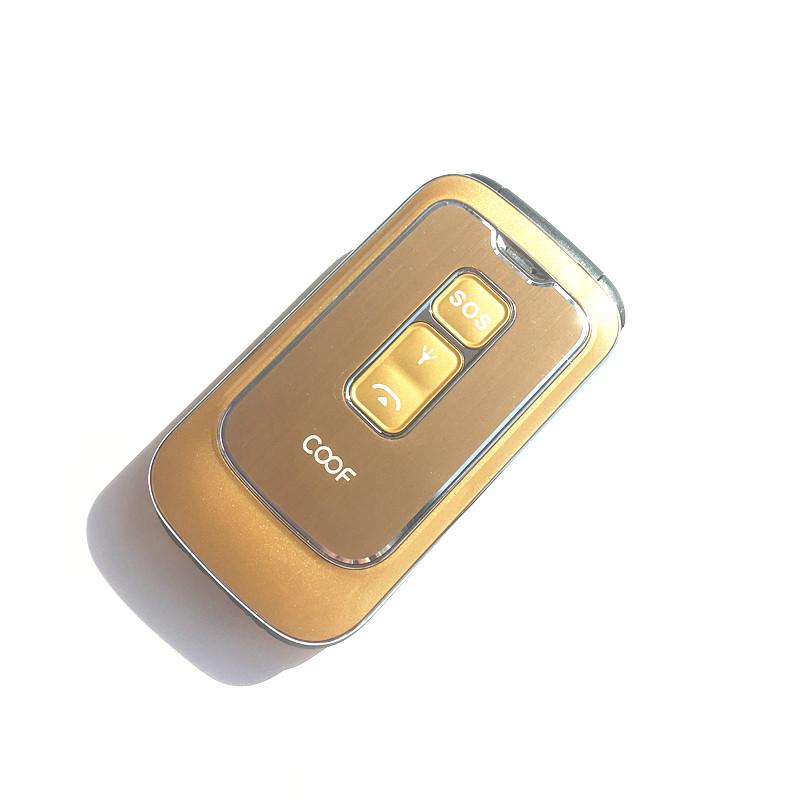 贝尔丰 BF609翻盖老人手机大键大字大声中老年手电筒男女款语音王