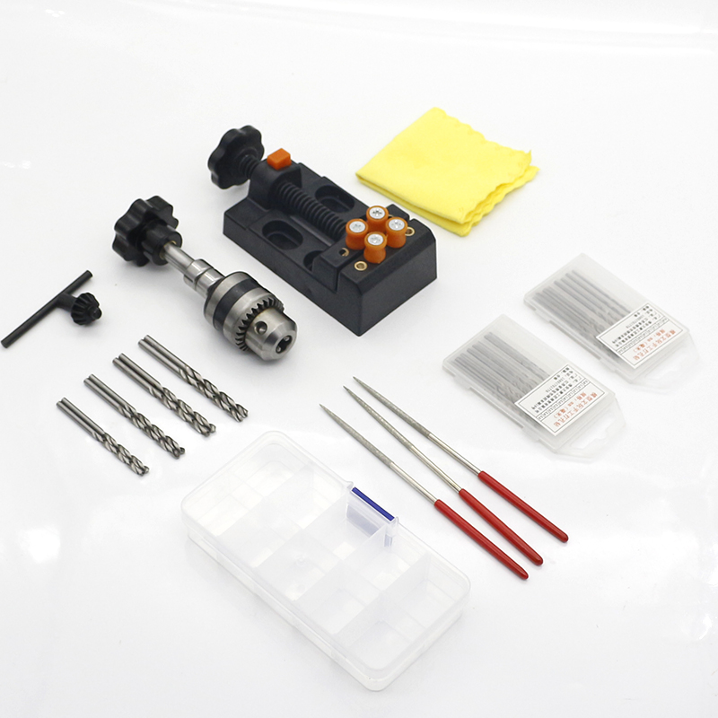 手捻钻 文玩手钻 手动打孔器拿子菩提子琥珀核雕打眼钻孔DIY工具