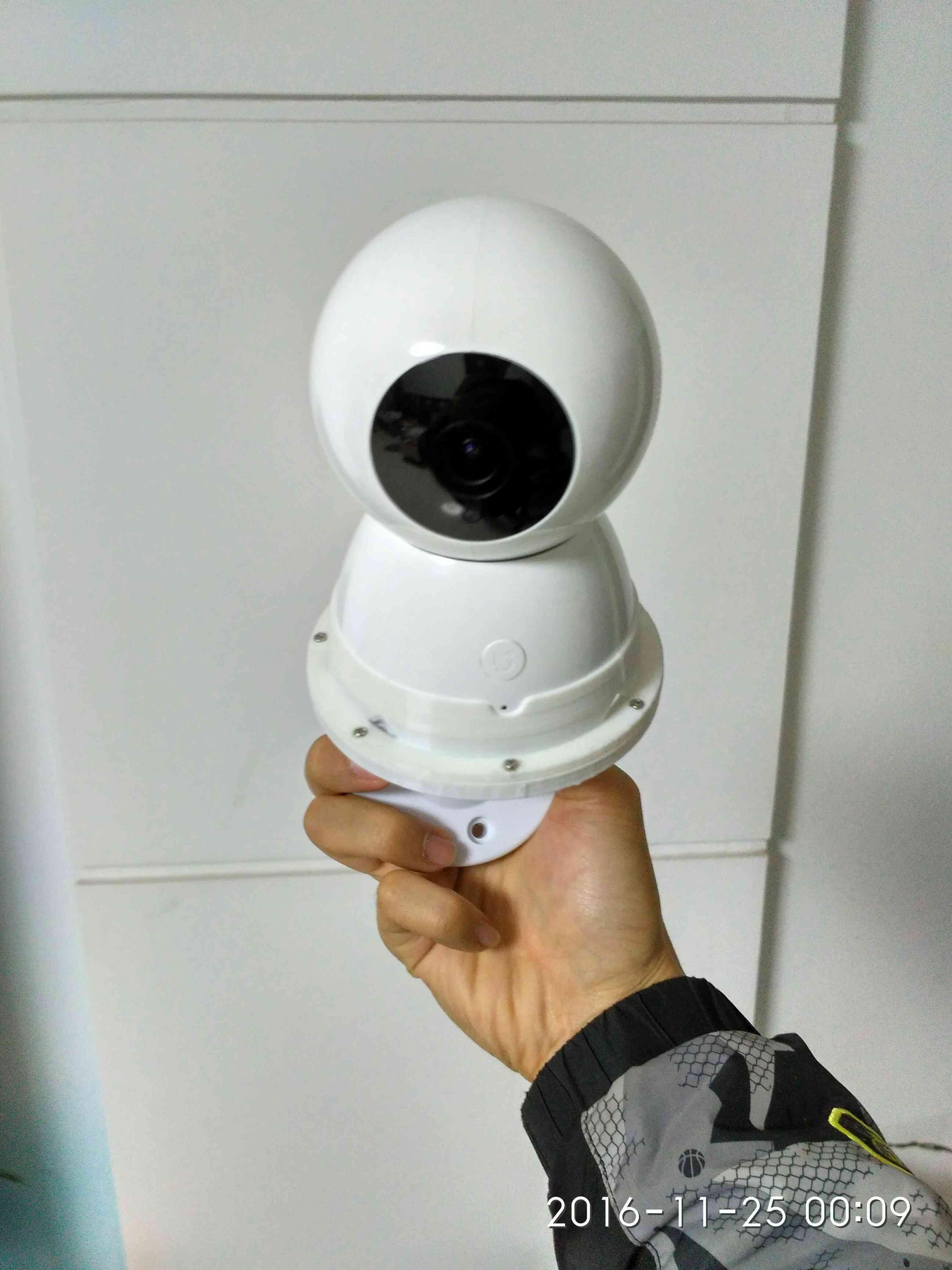 小米米家小白智能摄像机支架小白支架小米支架小蚁固定上墙壁顶装