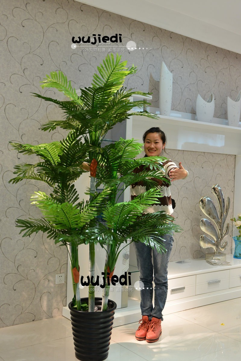 San Weikui Simulation Tree Simulation Of Large Fake Tree Artificial Flowers  Decorate The Living Room Upscale Hotel Plastic Fake Tree Potted Bonsai