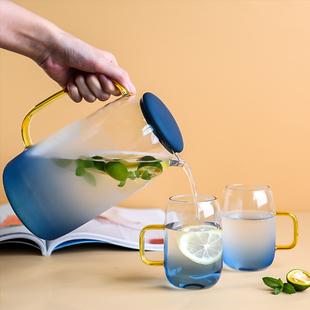云石冷水壶玻璃家用凉水壶,大容量好物
