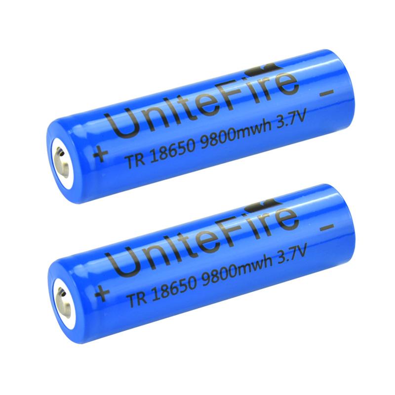 18650锂电池大容量4800 3.7v4.2v强光手电筒头灯小风扇电池充电器
