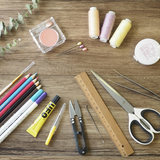 Snow Park Park sewing kit diy handmade doll face drawing tools Tools Package