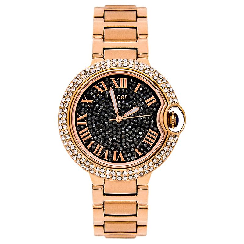 经典大气时尚手表女镶钻奢华水钻表防水女士手表钢带表石英表休闲
