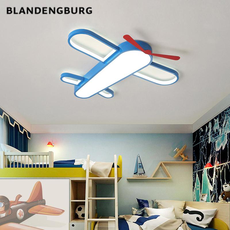 led创意儿童房间男孩卧室灯