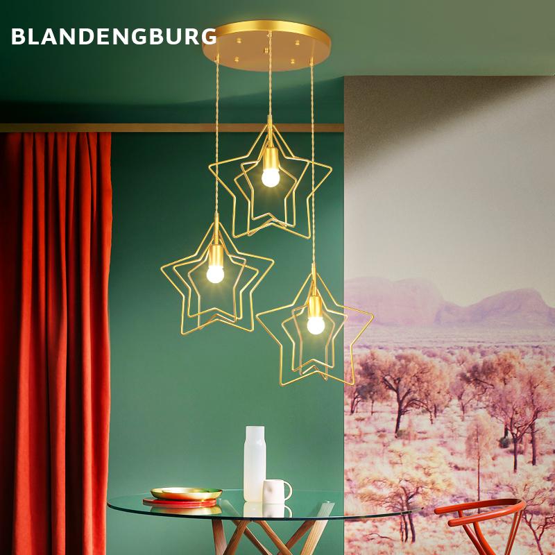 房卧室餐厅创意酒吧单头小吊灯