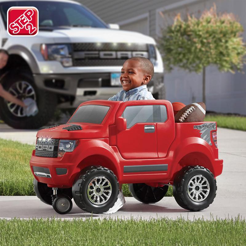 【美国进口】STEP2儿童四轮手推车宝宝可坐汽车卡车散步车学步车
