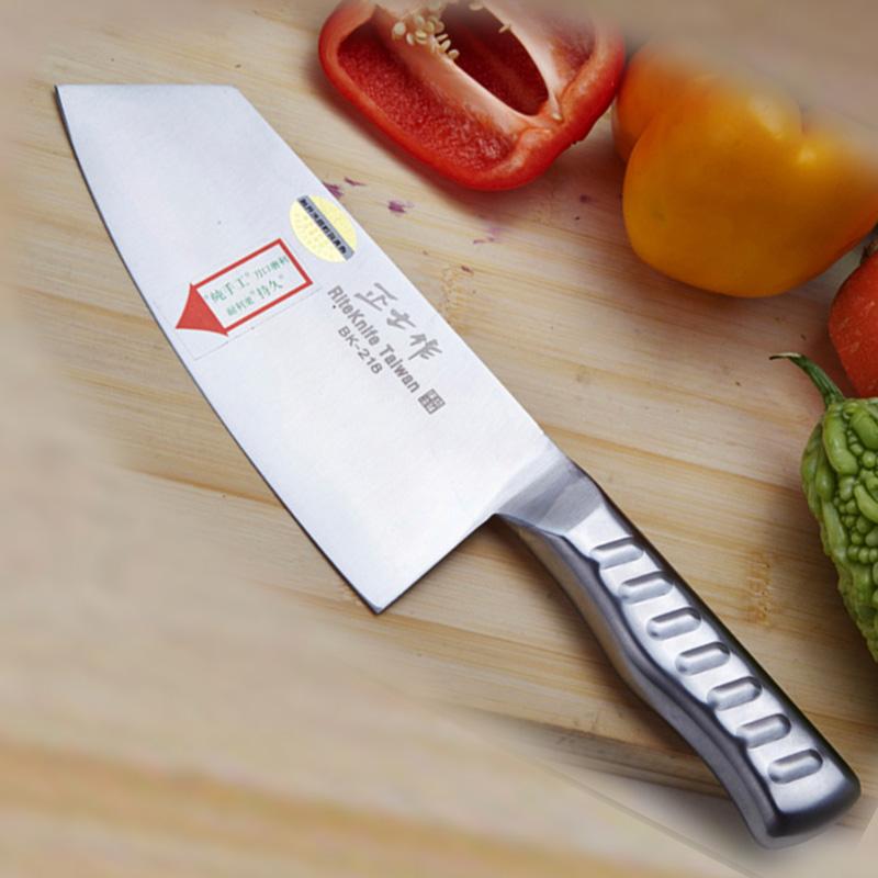 BK218正士作金門菜刀切片菜刀具 廚房家用切片刀不鏽鋼菜刀切肉刀