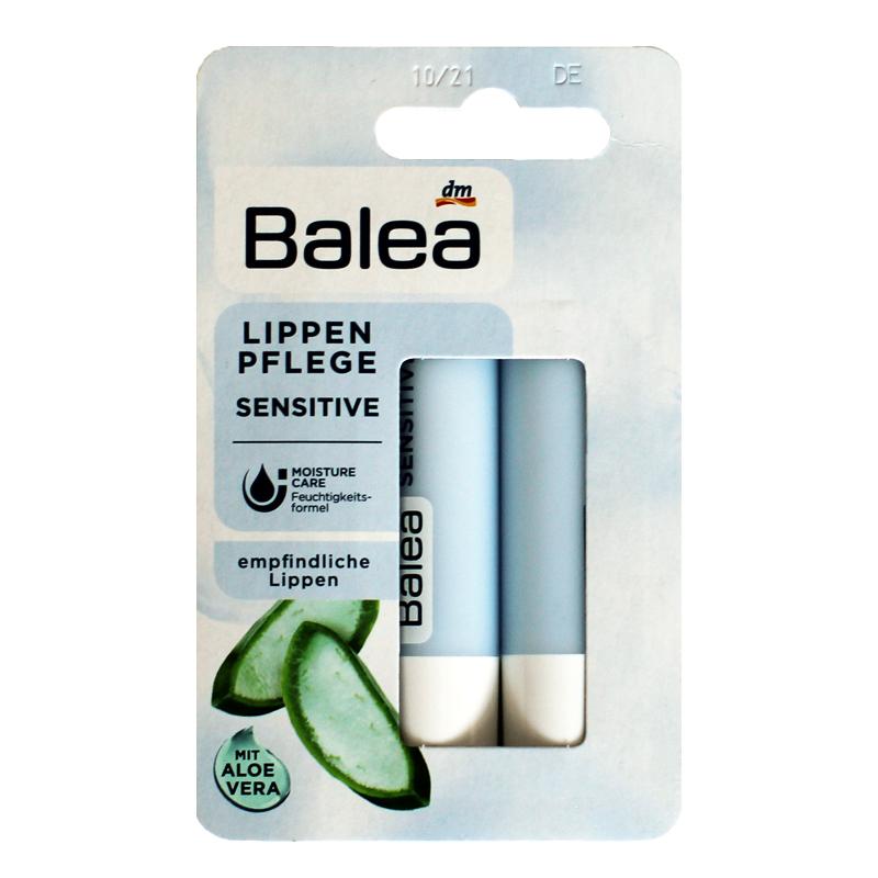 现货 德国芭乐雅Balea 牛油果杏仁油防敏感润唇膏唇色防干裂2个优惠券