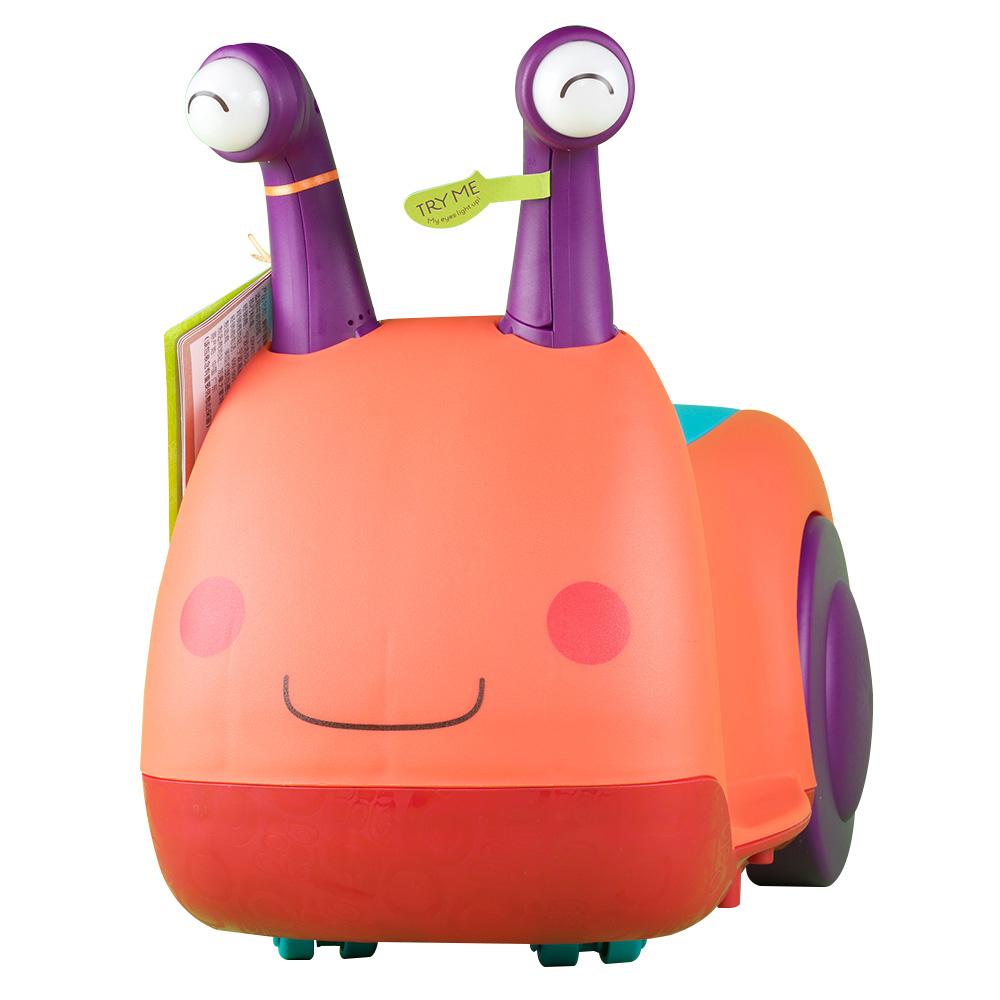 美国B.Toys蜗牛骑乘车儿童四轮溜溜车比乐宝宝滑行车玩具1-2-3岁