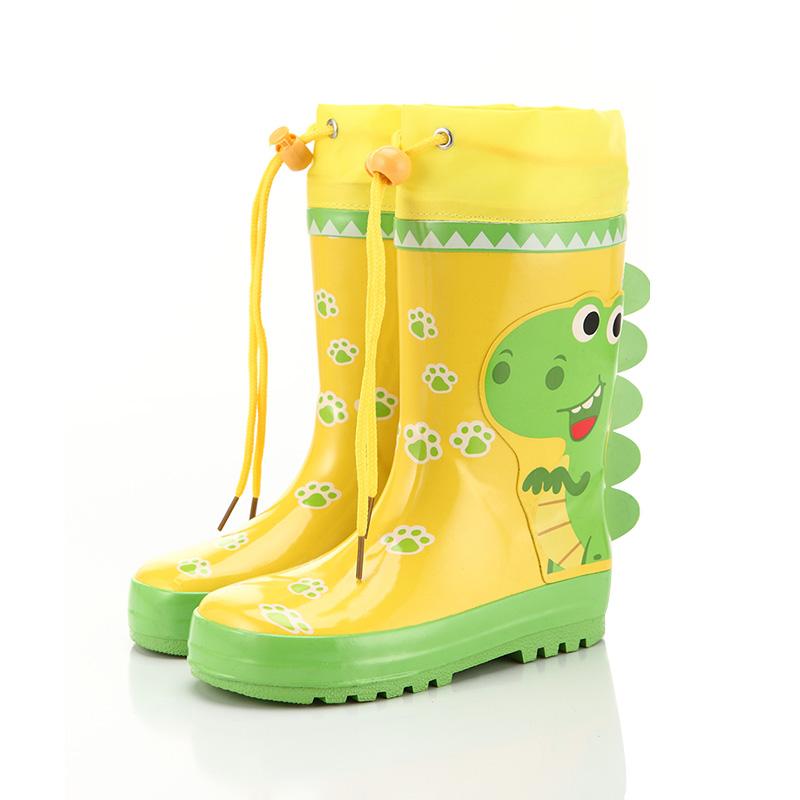 儿童雨鞋雨靴汽车韩国环保时尚男童女童宝宝防滑防水春秋橡胶雨鞋